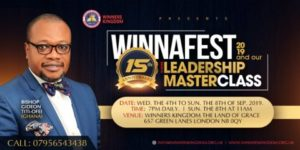 Winnerfest & Leadership Masterclass 2019