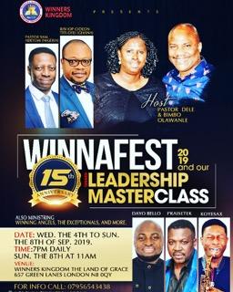 WINNERFEST & LEADERSHIP MASTERCLASS