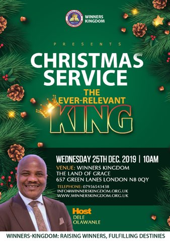 Christmas Service - The Ever-Relevant King